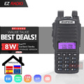 Upgrade 8W BaoFeng UV-82 Tragbare Ham Radio 10 KM Baofeng UV 82 Hohe 8W Walkie Talkie 10 km baofeng UV82 Gut Wie Baofeng uv-9r
