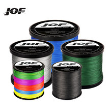 JOF 4 Strands Braided Fishing Line 300M 500M 1000M Carp Multifilament Fishing Line Japanese Braided Fishing Line Line Pe