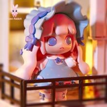 Toys Figures Blind-Box Guess-Bag Cosmic-Girl Anime Cute Group Ciega Doll Gift Caja Birthday-Gift