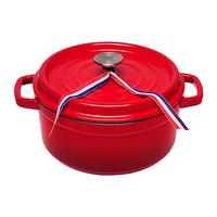 New Solid High Purity Cast Iron And Falang Thickened Cast Iron Soup Pot Non stick Iron Pot Stewpot Cooking Pot Cookware 4kg