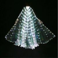 Girl Kids LED 360 Degree Belly Dance Isis Wings Luminous Butterfly Glow Wings