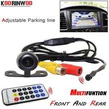 Koorinwoo Latest Ajustable Number Guide line Car parking camera rear view