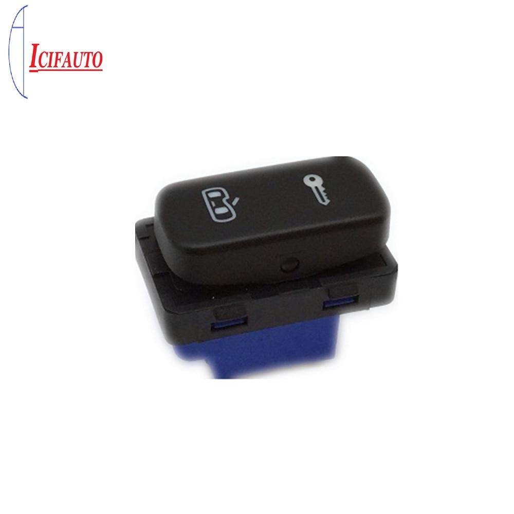 1z0 962 125a/1zd 962 125a alta qualidade para skoda octavia mk2 yeti 2004-2013 interruptor do sistema de bloqueio da porta central botão preto
