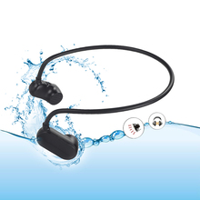 Bone auriculares de conducción HiFi con reproductor Mp3, IPX8, impermeables, estéreo para natación, reproductores de música deportivos, función Bluetooth opcional V31