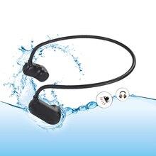 سماعة أذن تلتف حول الرأس HiFi مشغل Mp3 IPX8 مقاوم للماء السباحة ستيريو الرياضة الموسيقى اللاعبين وظيفة بلوتوث اختياري V31