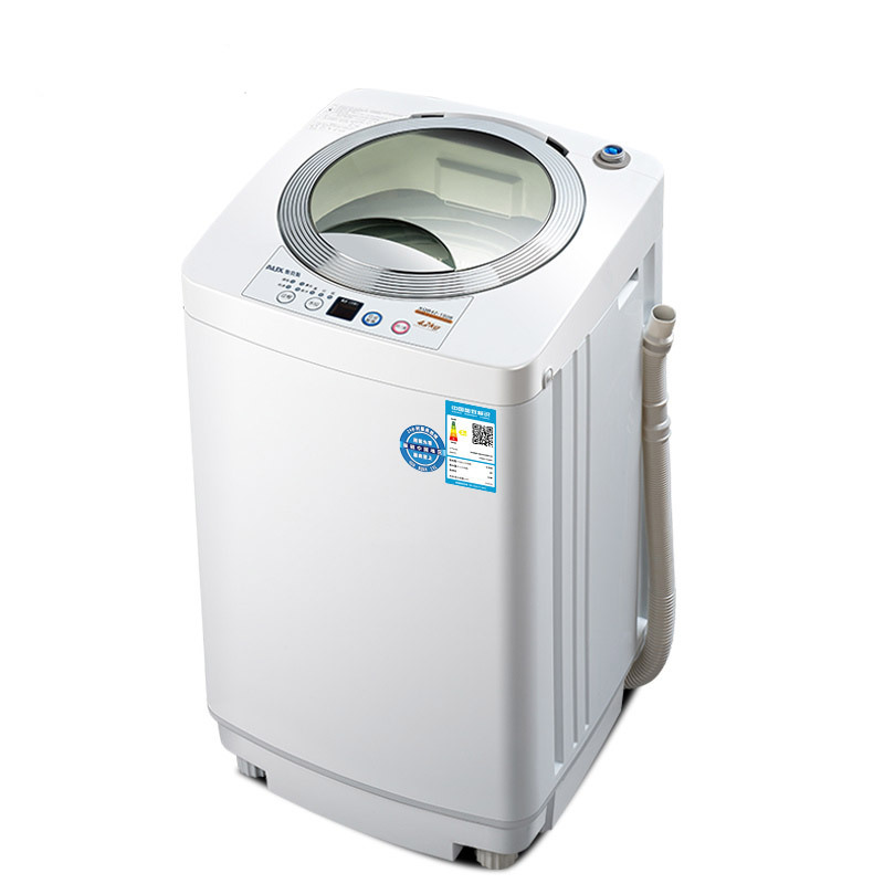 AUX 4.2 Kg Fully Automatic Wave Wheel Anti-winding Portable Washing Machine  Mini Baby Washer And Dryer  Mini Laundry Machine