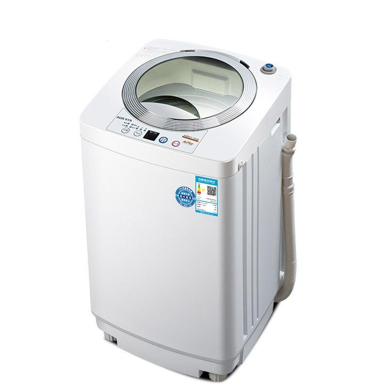 AUX 4,2 кг, полностью автоматический, волнистое колесо, анти намотка, Портативная стиральная машина, мини Детская стиральная машина и сушилка, мини стиральная машина