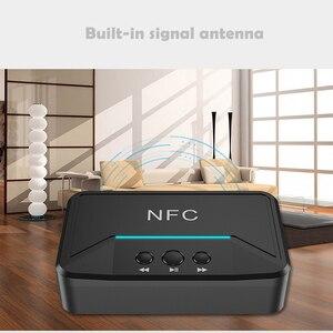 Image 3 - Bluetooth 5.0 מקלט מתאם NFC 3.5mm RCA אודיו AUX פלט אלחוטי Bluetooth Dongle סטריאו קולט עבור מגבר רמקול