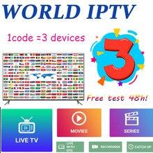 3 devices 8000 World IPTV M3U Live iptv Subscription USA UK Spanish for Android iptv m3u enigma2