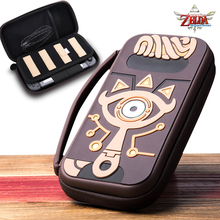 The Legend of Zelda Sheikah Slate Carrying Storage Bag Switch Water resistent Case Bags Silica Gel