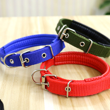 Dog Collar Teddy Gold Hair Neck Around Large / Medium Small Pet Colla  Harness Products Breakaway
