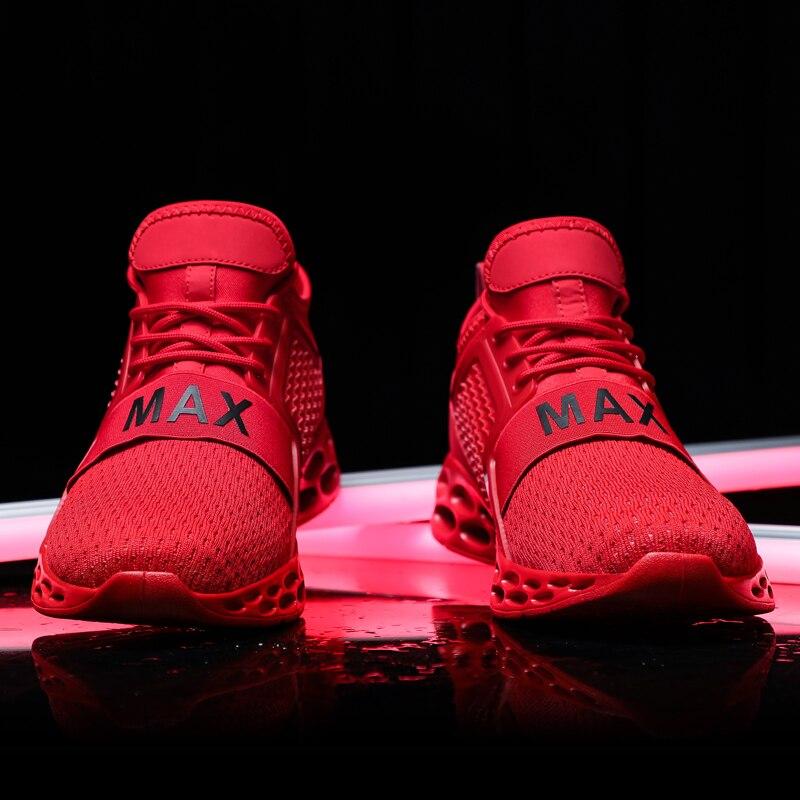 2020 Neue Außen Männer Freies Laufschuhe für Männer Jogging Walking Sport Schuhe High-qualität Spitze-up Athietic Atmungsaktiv klinge Turnschuhe