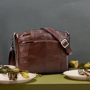 Image 3 - Cobbler Legend sacs en cuir véritable pour femmes grande capacité marque sac à bandoulière dames sacs à bandoulière 2019 nouveau sac à main femme