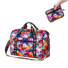 PLAYKING foldable waterproof grocery outdoor travel folding lightweight bag sport Hiking gym mochila camping trekking bag