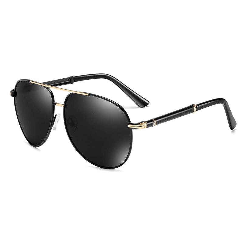 Brand Design Polarized Sunglasses For Men Classic Metal Men Driving Sun Glasses Male UV400 Sunglass Shades Eyewear Oculos De Sol