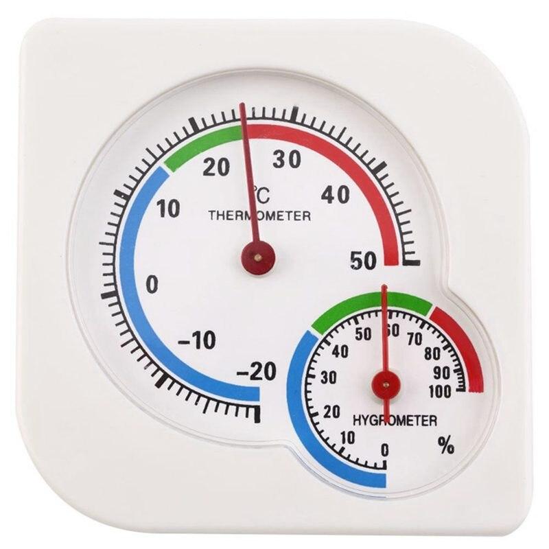Промо-акция! Классический WS-A7 Крытый Открытый Мини влажный гигрометр Влажность термометр Измеритель Температуры Механический термометр белый