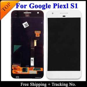 Image 4 - 100% getest Super AMOLED Voor HTC Google Pixel 2 XL LCD Voor HTC Google Pixel Scherm LCD Touch Digitizer montage