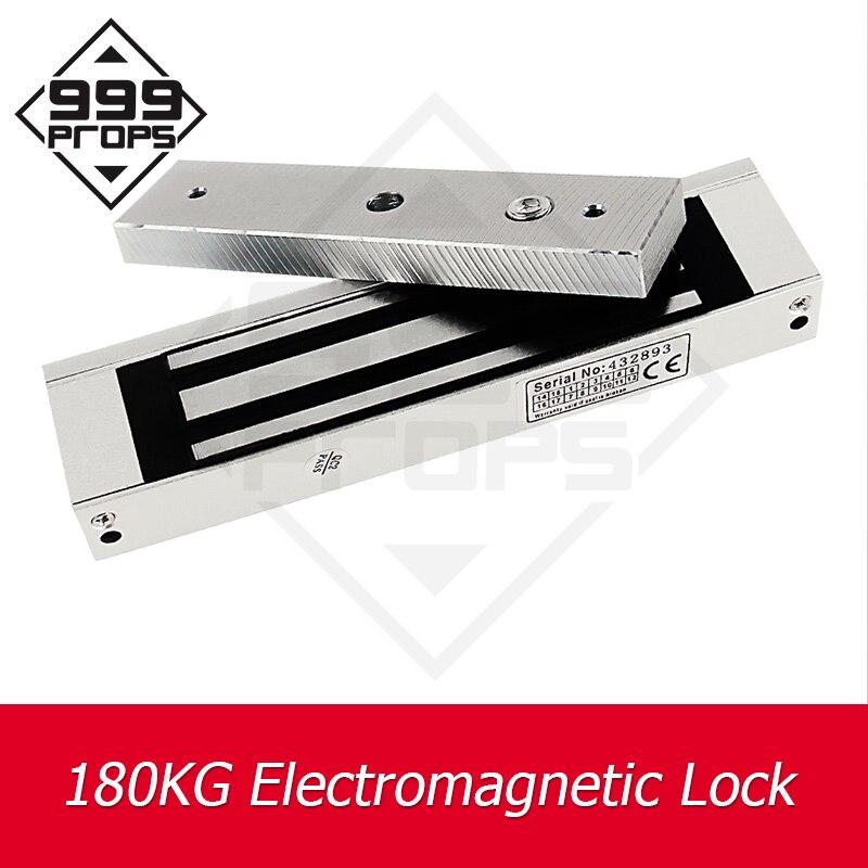 999 accessoires aspiration 180KG EM serrure évasion pièces de rechange installer la serrure électromagnétique sur la porte ou la boîte takagisme jeu prop