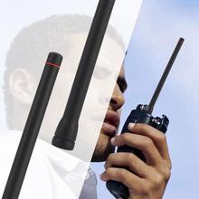 4 قطعة واكي تاكي محمول راديو هوائي VHF المطاط 16 سنتيمتر يده اتجاهين راديو 50 أوم 136 174 ميجا هرتز 1.8dBi هوائي ل ICOM IC F3