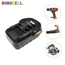 Bonacell 1 Pack 4000 Mah 18V Li-Ion Oplaadbare Power Tool Batterij Voor Ridgid R840083 R840085 R840086 R840087 Serie Aeg serie