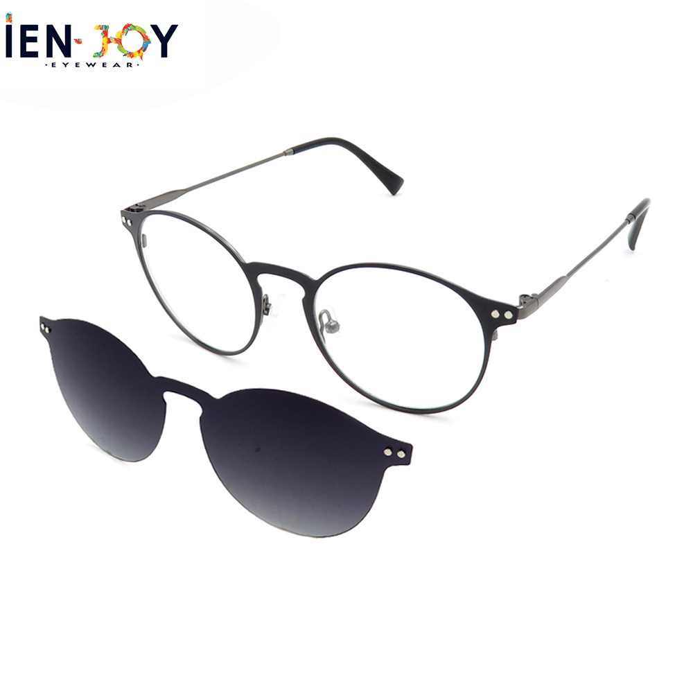 IENJOY Blue Light Blocking Glasses Women Sunglasses Polarized Magnetic Optical Frame Clip On Eyeglasses Uv400 Zonnebril Dames