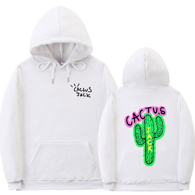 TRAVIS SCOTT CACTUS JACK THEMED HOODIE (20 VARIAN)