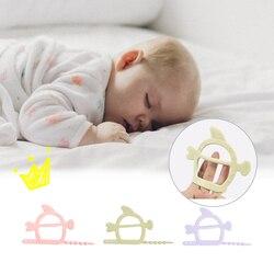 Goocheer Enfermagem Bebê Mordedor Infantil Silicone Anti-Comer Gel Mão de Borracha Brinquedos Do Bebê Mordedor molar vara Brinquedos de Enfermagem Presente