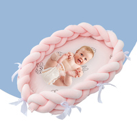 Baby Crib Home Portable Folding Baby Bed Infant Game Beds Multifunction Travel Bed for Bionic Bed Baby Care