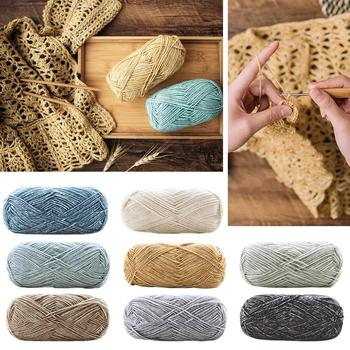 2020 Winter Soft Silk Milk Cotton Yarn For Knitting Baby Wool Yarn Hand Knitted Blanket Sweater Scar
