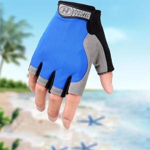 Gloves-Accessories Bike-Gloves Short Half-Finger Women Breathable Sports Anti-Slip