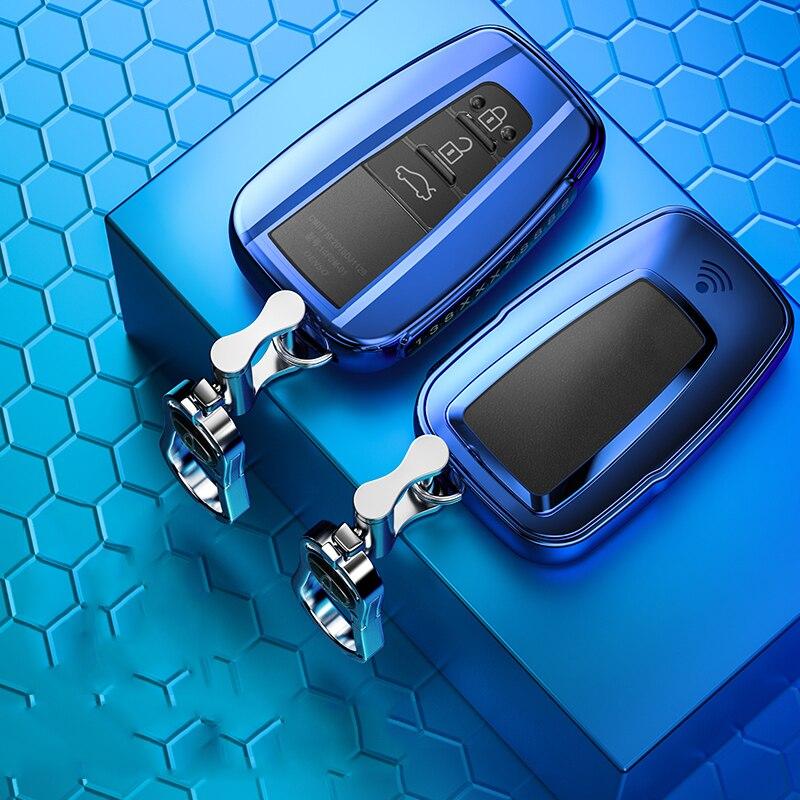 Coque de protection pour clé de voiture en TPU souple, accessoire pour clé de voiture, pour Toyota Camry Prado 2020 2017 CHR Prius Corolla RAV4, 2018