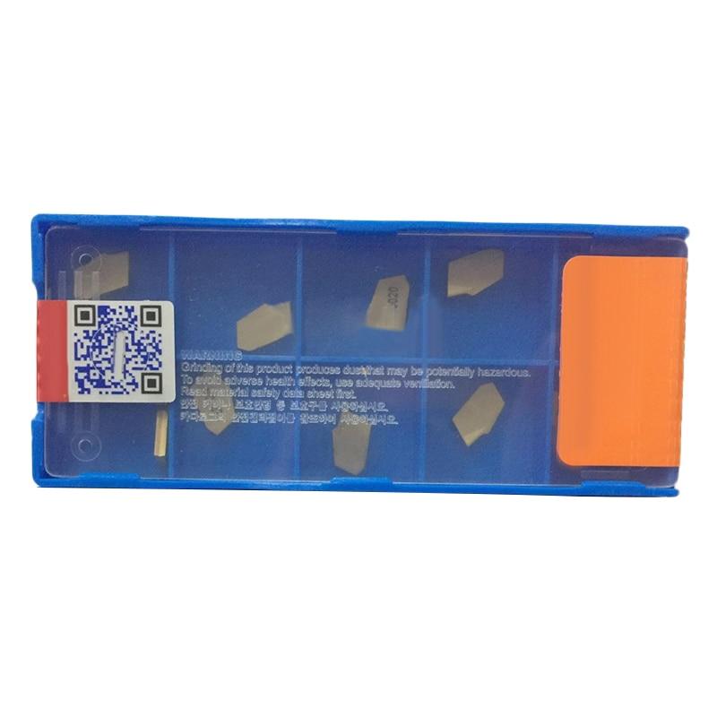 20pcs SP200 NC3020 GTN-2 Grooving Carbide Insert For Lathe Cutter Turning Tool