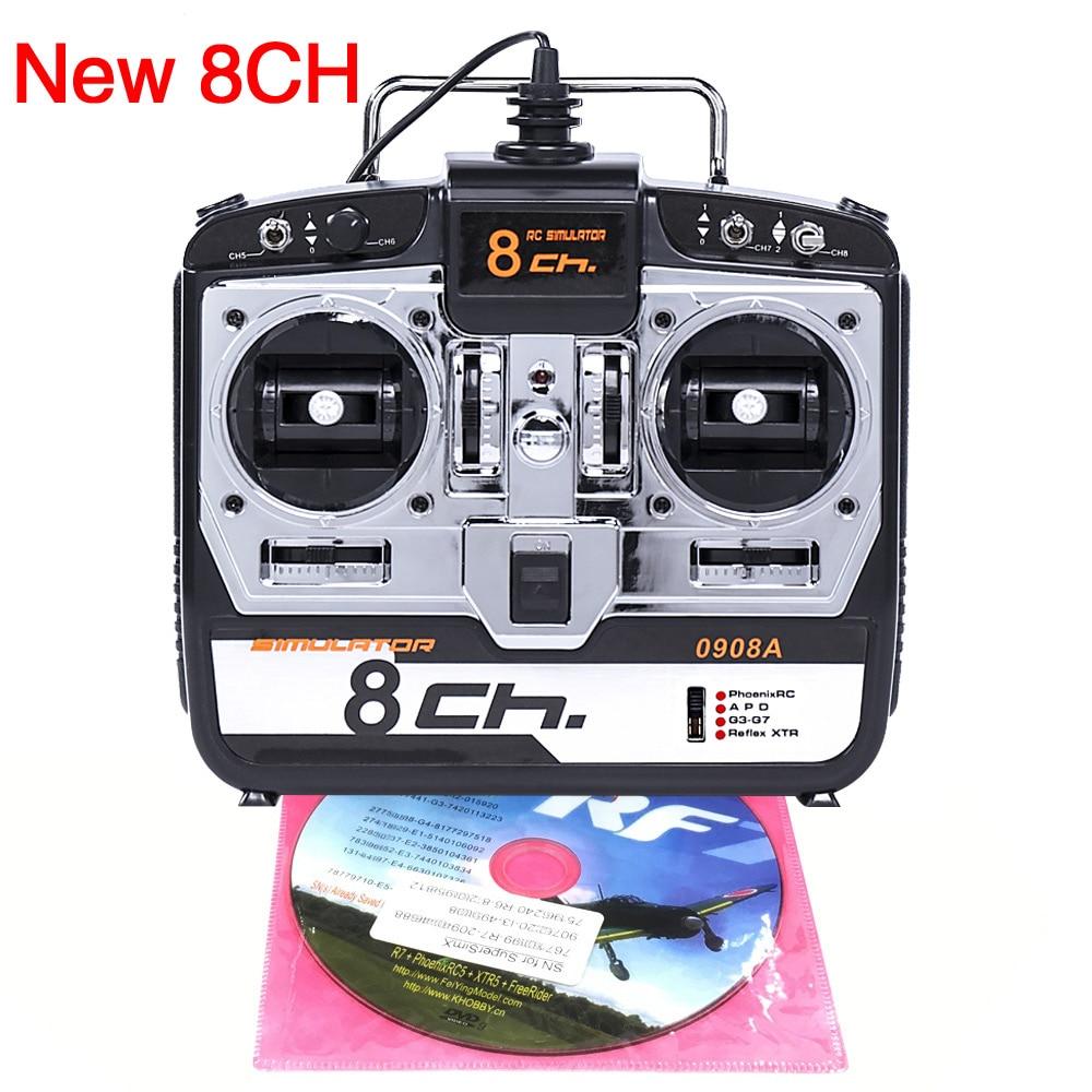 DTXMX 8CH RC симулятор полета с поддержкой Real G7 Phoenix 5,0 XTR вертолет с дистанционным управлением с неподвижным дроном (Model2)