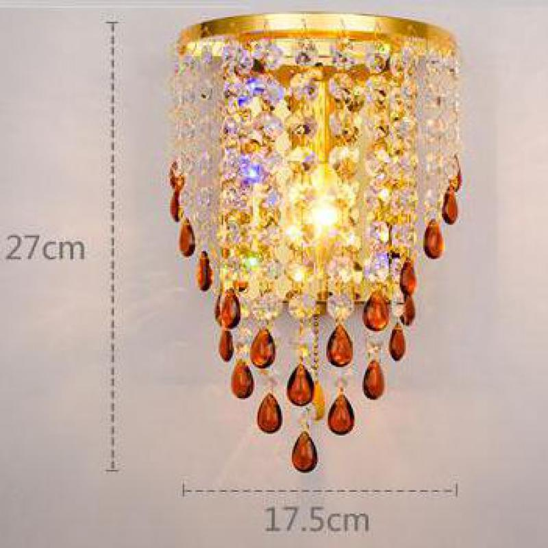 Led Wall Light Modern Concise Creative Personality Led Bedside Living Room Wall Lamps Decorate Bed E14 Led Light Fixtures