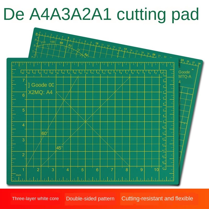A1 A2 A3 A4 Cutting / Engraving Backing Plate Paper Cutting Manual Model Cutting Backing Plate Cutter Plate Soft Cutting Plate