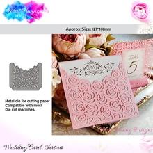 Meet Huang Flowers Lace Metal Cutting Dies Pocker Scrapbooking Cut Craft New 2018 paper craft album card making