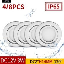 4/8PCS Stainless steel waterproof…