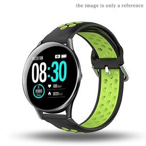 Image 3 - Pulseira de silicone para hofofit hf05 acessórios relógio inteligente banda substituição para agptek lw11 pulseira laço ajustável macio 22mm