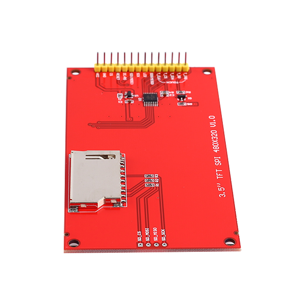 Best DealÐLcd-Display-Module Card-Socket ILI9488 Tft Touch Driver SPI RGB with SD 320--240