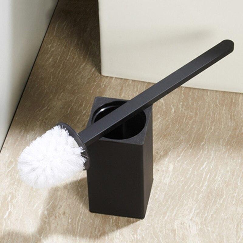 Ванная комната щетина унитаз щетка с нержавеющая сталь основа без перфорации вертикальный туалет щетка душ комната уборка щетки