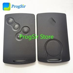Image 2 - Control remoto de proximidad sin llave, 4 botones, 434MHz, para Renault Clio4 Captur con Chip PCF7938X 4A sin logotipo