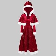 Chrismas Dress 2019Top Fashion Womens Merry Christmas Velvet Long Sleeve O-Neck Red Festival
