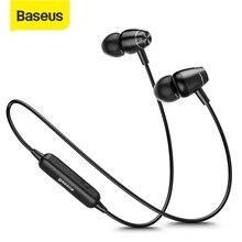 Baseus S09 Bluetooth IPX5 Chống Nước Không Dây Tai Nghe Nam Châm Tai Nghe Nhét Tai Stereo Auriculares Bluetooth Tai Nghe Chụp Tai cho Điện Thoại