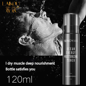 LAIKOU 120ML Face Tonic For Men Hydration Facial Tone Moisturizing Oil-control Shrink Pores Makeup Water Face Toner Skin Care недорого