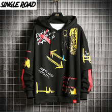 SingleRoad Mens Hoodies Men 2020 Fashion Hip Hop Harajuku Japanese Streetwear Oversized Sweatshirts Sweatshirt Black Hoodie Men