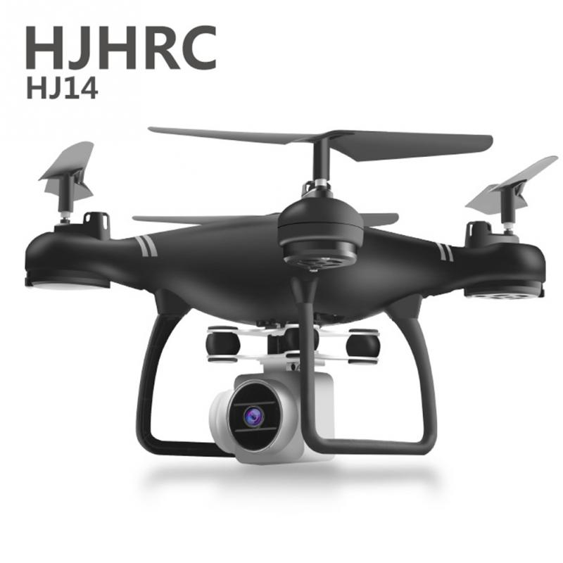 <font><b>HJ14W</b></font> 1080P Remote Control Quadcopter Airplane Drone with WIFI HD Camera Aerial Photography Foldable RC Helicopter Long Battery image