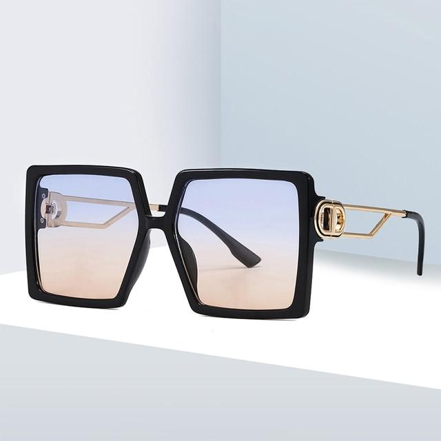 Vintage Square Sunglasses