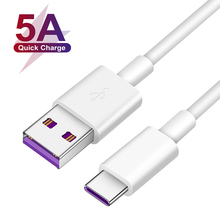 5A Quick Charge USB Type C Cable For Samsung A21 A21S A31 A51 A71 A50 A70 Huawei