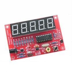 1Hz-50MHz płyta modułu miernik częstotliwości zestaw DIY kryształ środek dla oscylatora łatwa instalacja automatyczna konwersja Self montaż
