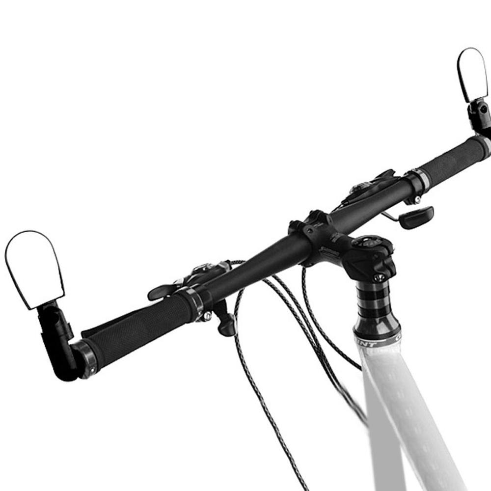 Bicycle Rearview Mirror Handlebar Rear View Camera Adjustable Mountain Bike